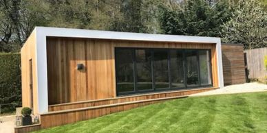 Garden Room Extension - Garden Room Office - Garden Boom Building - Modular Garden Room Installer
