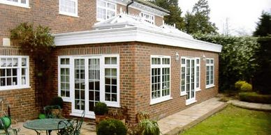 Orangery Installation Brick Orangery Installer Elite home Improvements Services Ltd