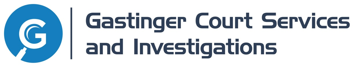 Gastinger Court Services and Investigations