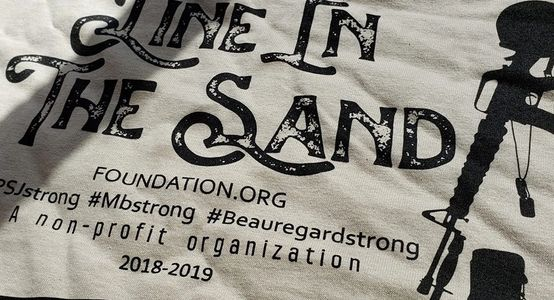 Line In The Sand Tshirts