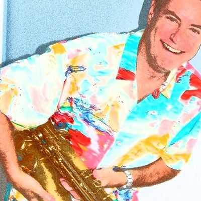 Jazz sax music for your wedding, corporate event or party.