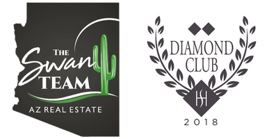 The Swan Team Logo and HomeSmart Diamond Club Award