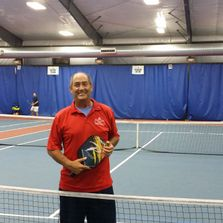 John Callahan teaches Pickleball lessons in St. Louis and teaches how to play Pickleball.