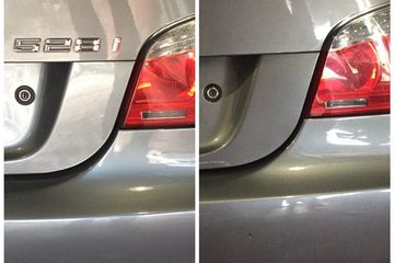 Before and after Debadging