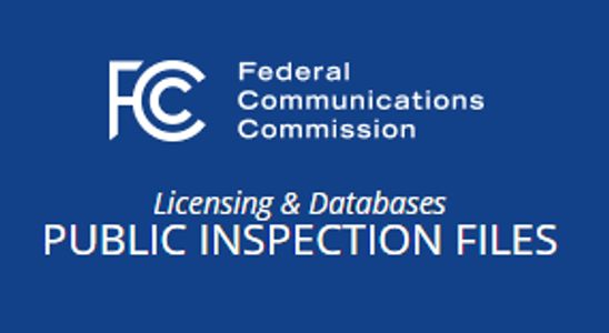 FCC Public Inspection Files for WTXY