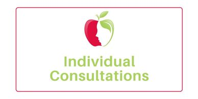 Nutritional therapy and psychology individual consultations and appointments.