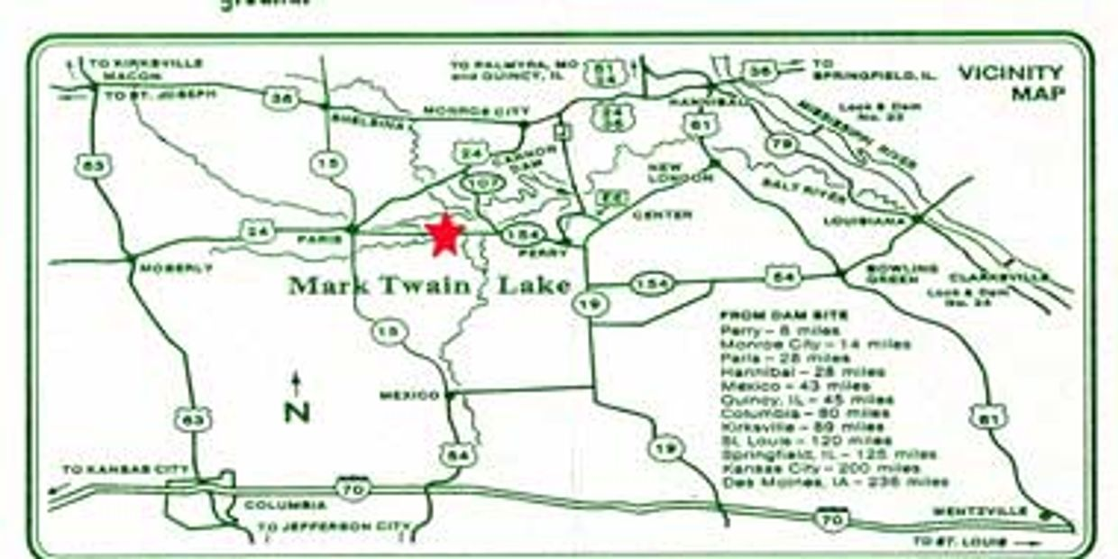 Maps and Attractions | Elk Fork Campground LLC