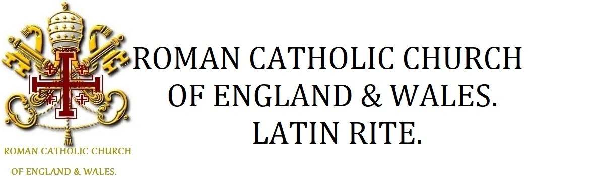 Catholic Church OF England & Wales.