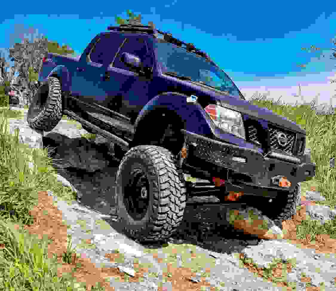 Shadow Wolf MFG swapped Nissan Frontier