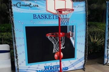 basket ball game on rent, hire basket ball in Gurugram Faridabad, chattarpur, farm house party