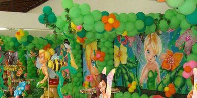 jungle theme party balloon decor with in party setup theme party planning on kids birthday