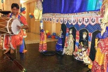 Rajasthani Puppet Show very popular among in kids these period of party set up