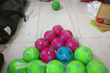 Ball break  Game on rent in party setup   For birthday planning