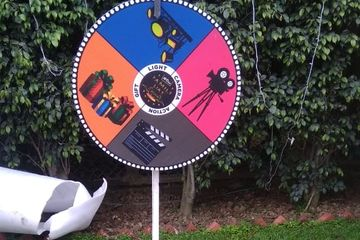 spin the wheel game on rent in delhi, gurugram, Faridabad, for birthday party & events