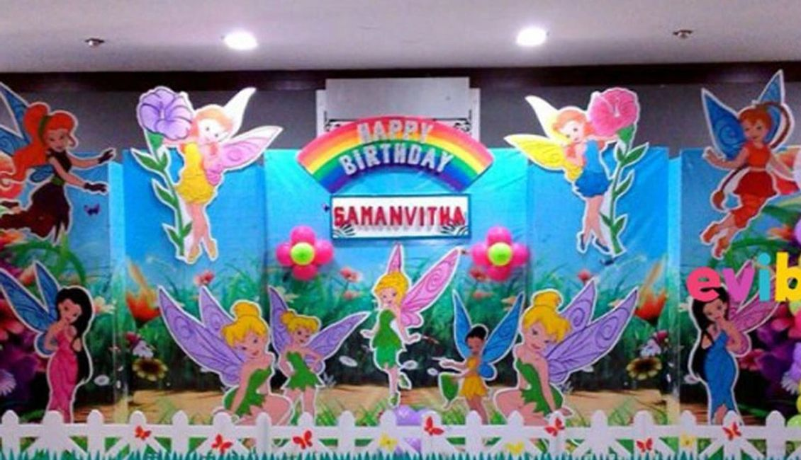 birthday decor & back drop decoration at birthday planner in delhi
