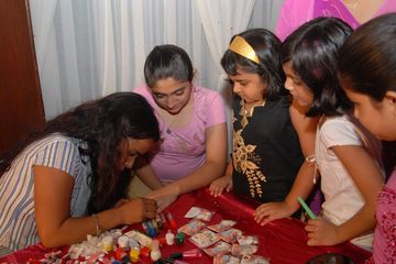 nail art decor in birthday party planner party setups in delhi