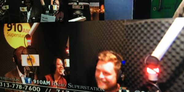 Chris Ahern Photography in a radio interview