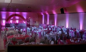 dj uplighting, uplighting destin wedding, destin wedding lighting, wedding dj lights, destin wedding