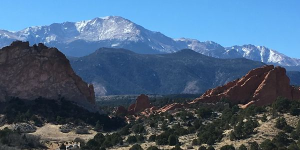 Pike's Peak and Garden of the Gods