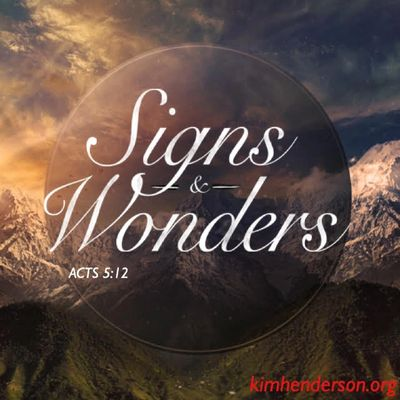 The apostles were performing many miraculous signs and wonders among the people.