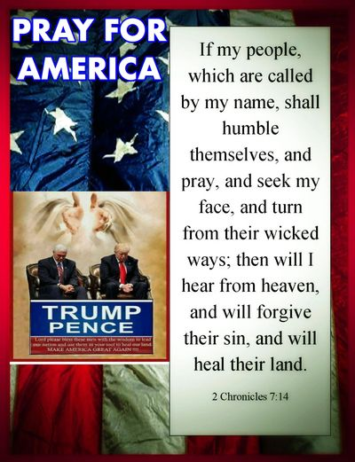 PRAYERS FOR PRESIDENT TRUMP  Whether you voted for him or not and whether YOU LIKE HIM.  President D