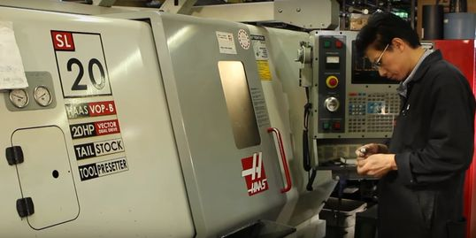 "We have best CNC machines in the market today, giving us capabilities of manufacturing to 0.0001""."
