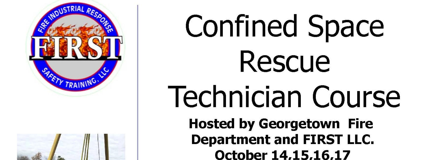 Firefighter rescue permit required confined space  OSHA georgetown kentucky lexington kentucky FIRST