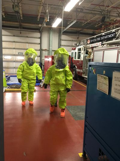 Hazardous materials, hazmat, level A, PPE, fire department, emergency response, hazwoper kentucky