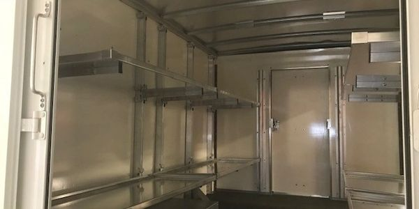 Chevrolet Express Fold Away Shelving