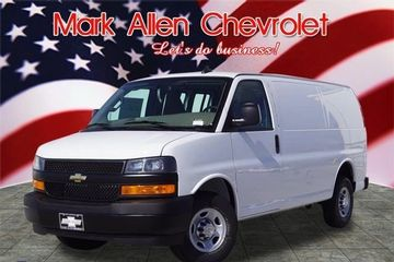 2019 Chevrolet Express Cargo Van for Parcel Delivery Van for FedEx Delivery Vans