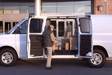Chevrolet Express Cutaway FedEx Van for Parcel Delivery Vans