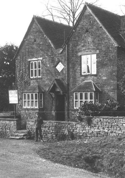 An early image of the Yew Tree, which was formerly known as the 'Red Lion'