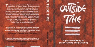 Outside Time by Hannah Wright a book about food, farming and gardening in the prison service