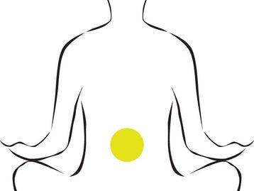 belly is the center of the body for this massage