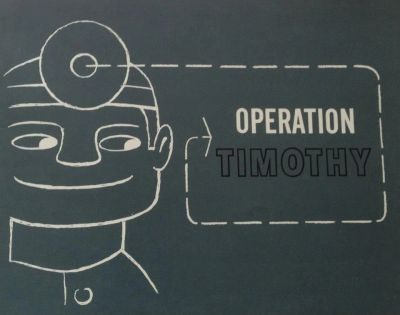 The cover of Operation Timothy.