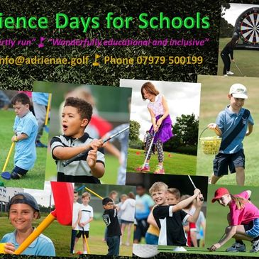 Golf Experience Days for Schools