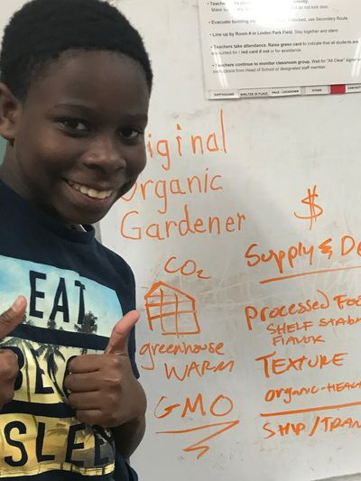 Where does food come from? Supply and demand means that our youth have so much control and influence on what we produce as a global community.
