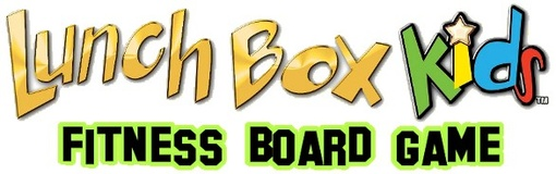 LunchBox Kids Fitness Board Game