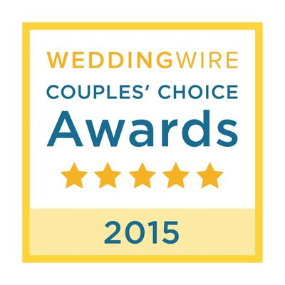 WeddingWire Couples' Choice Awards Winner 2015