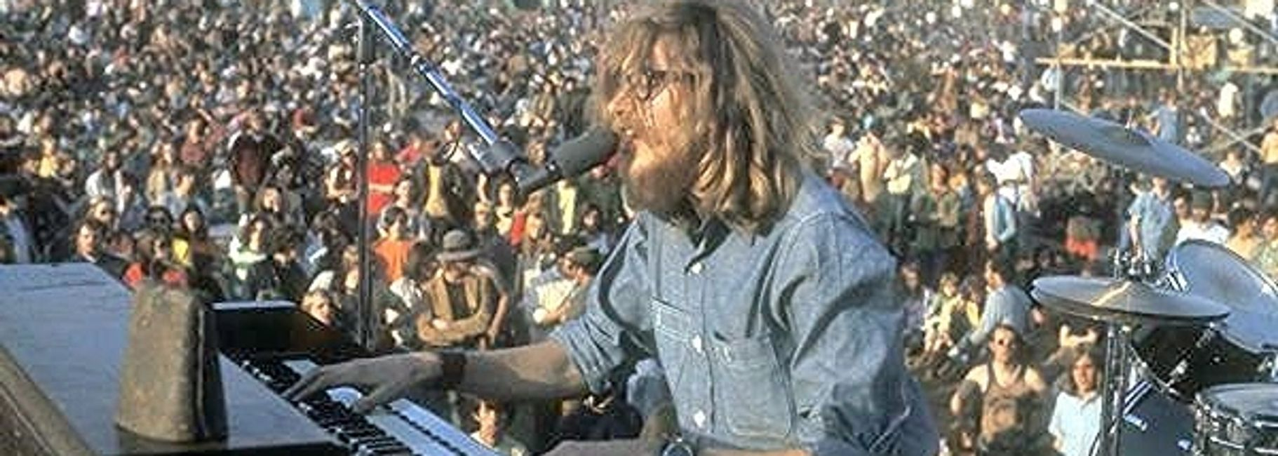 Boyd Ray Sibley performing with HOPE Band at Poynet, Wisconsin 3 Day Rock Fest, 1970
