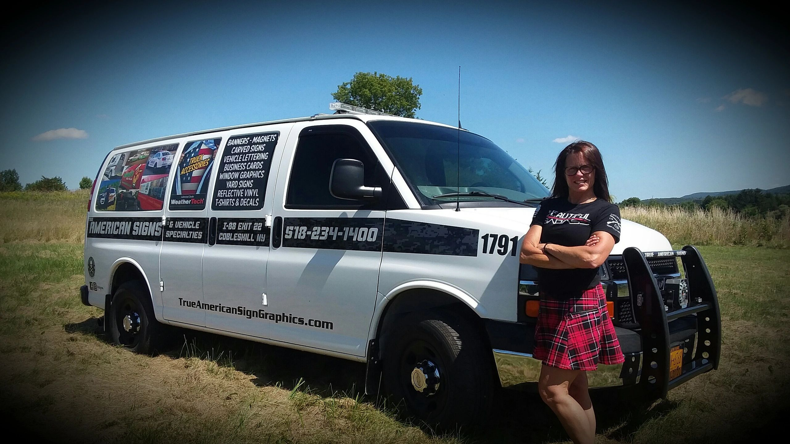 Woman owned truck accessory business
