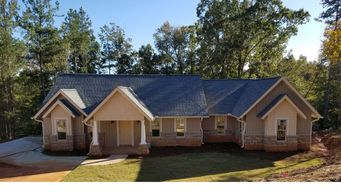 Beautiful one level Craftsman Home designed for a view.  The Bowman-Alpine XII
