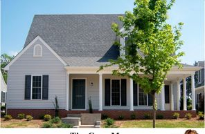 Classic home design with master on the first level. the Cape May II with Rear Garage