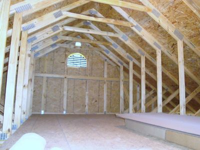 Attic Truss option over the garage for extra storage