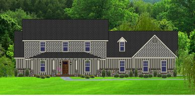 Beautiful 5 bedroom, 3.5 bath Craftsman Home.   The Napletowne XXV with Side Garage