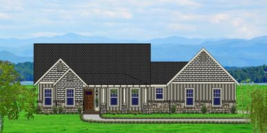 Beautiful Craftsman Home Vermont-towne X with Garage