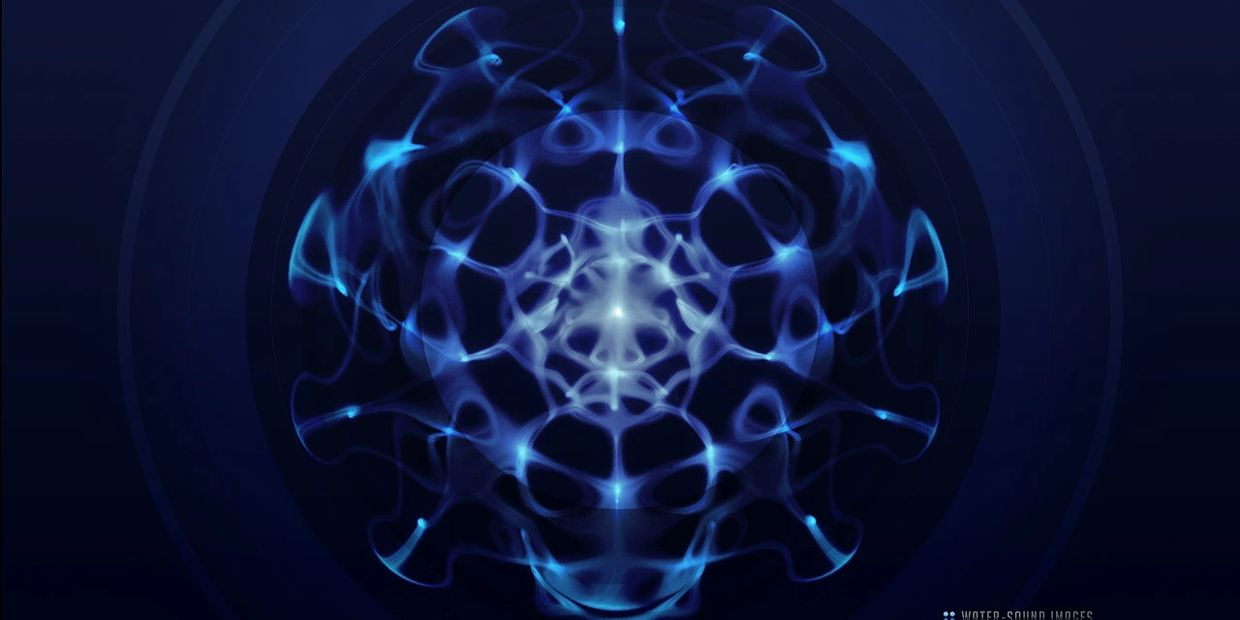 the musical plant cymatics music healing frequency frequencies conscious vibrations meditation heal