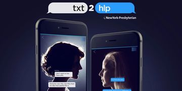 TXT2HLP New York-Presbyterian, first mobile platform, train cancer patients to be suicide counselors