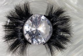 The Fluff on this lash is real ! She is Sassy,wispy  flirty and fun ! You can rock this lash with a