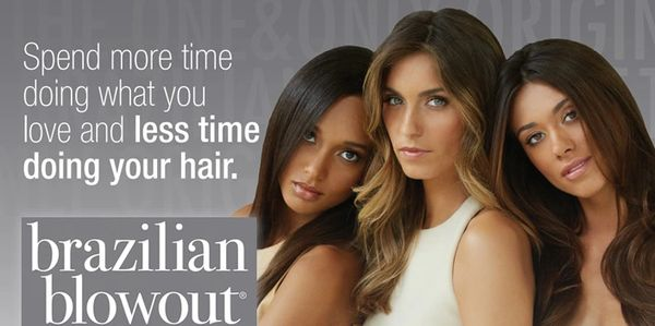 BRAZILIAN BLOWOUT  professional smoothing treatment Brazilian Blowout, Smoothing frizz-free hair.